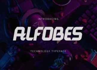 ALFOBES Display Font