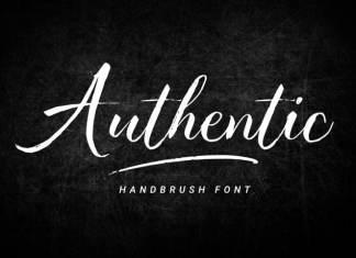 Authentic Brush Font