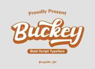 Buckey Script Font
