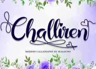 Challiren Calligraphy Font