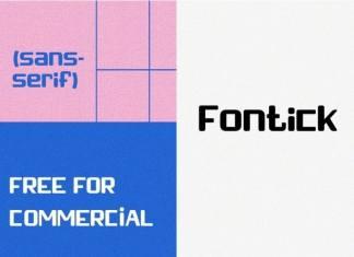 Fontick Sans Serif Font
