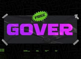 Gover Display Font