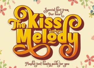 Kiss Melody Display Font