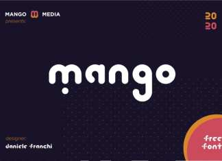 Mango Display Font