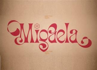 Migaela Display Font