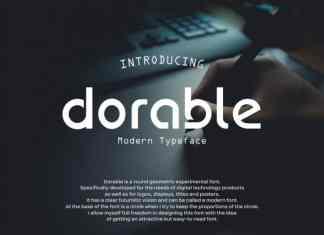 Dorable Display Typeface