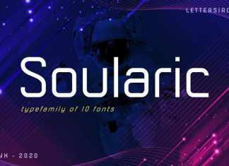 Soularic Sans Serif Font