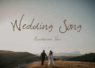 Wedding Song Handwritten Font