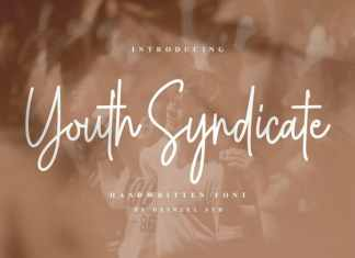 Youth Syndicate Handwritten Font