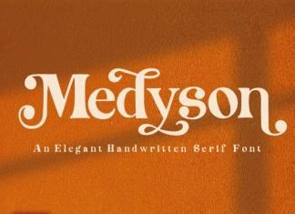 Medyson Serif Font