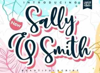 Sally & Smith Script Font