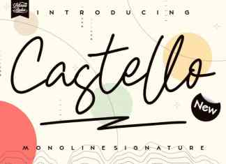 Castello Handwritten Font