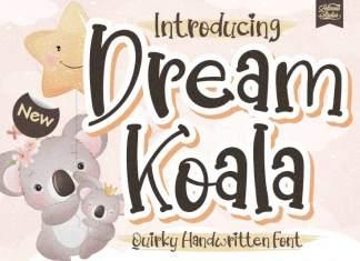 Dream Koala Display Font