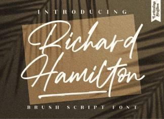 Richard Hamilton Handwritten Font