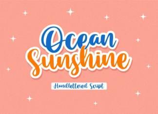 Ocean Sunshine Script Font