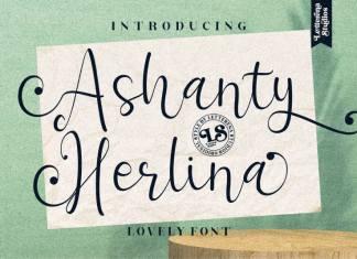 Ashanty Herlina Script Font