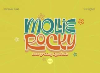 Mollie Rocky Display Font