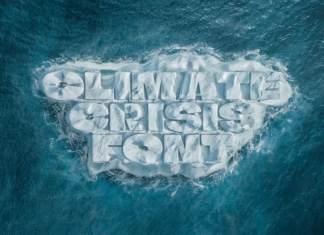 Climate Crisis Display Font