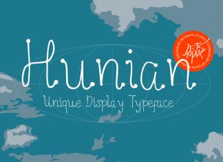 Hunian Display Font