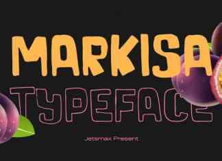 Markisa Display Font