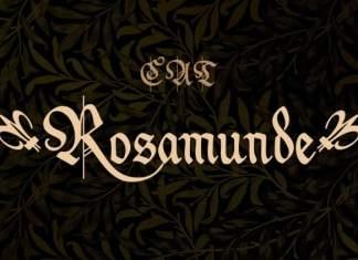 Rosamunde Display Font