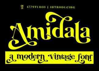 Amidala Serif Font