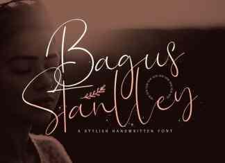 Bagus Stanlley Script Font