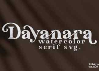 Dayanara Serif Font