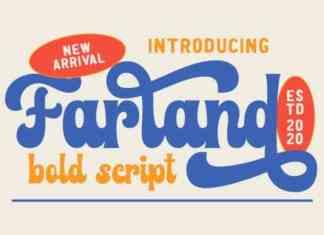 Farland Bold Script Font