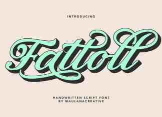 Fattoll Script Font