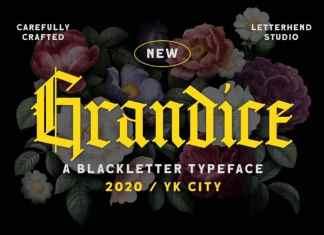 Grandice Blackletter Font
