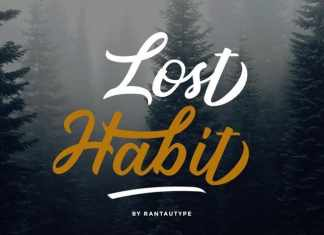 Lost Habit Calligraphy Font
