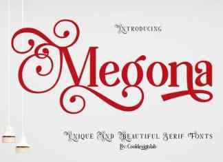 Megona Serif Font