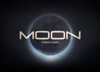 Moon Display Font