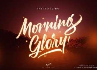 Morning Glory Script Font