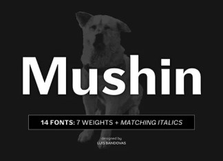 Mushin Sans Serif Font