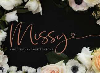 Missy Script Font