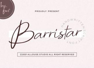 Barrirstar Script Font