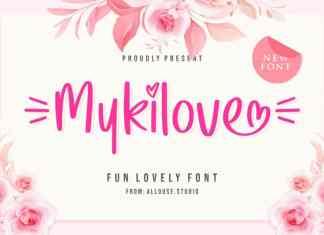 Mykilove Display Font