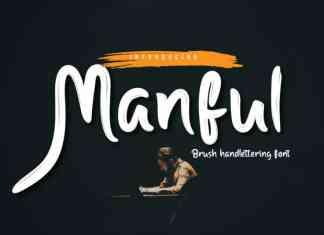 Manful Script Font