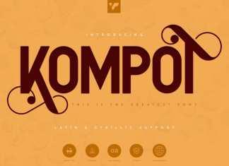 Kompot Sans Serif Font