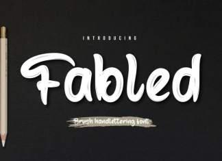 Fabled Script Font