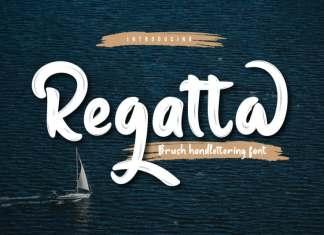 Regatta Script Font