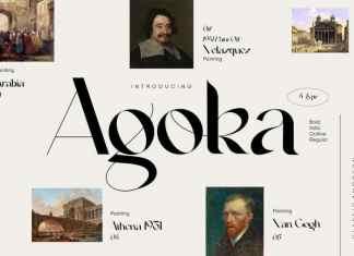 Agoka Serif Font