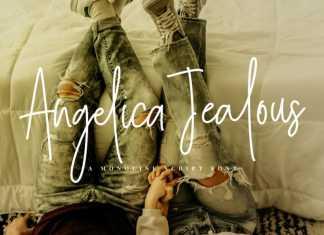 Angelica Jealous Handwritten Font