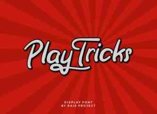 Play Tricks Script Font