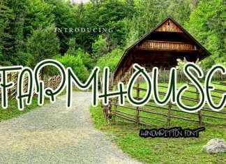 Farmhouse Handwritten Font