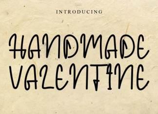 Handmade Valentine Font