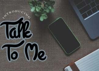 Talk To Me Display Font