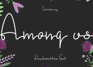 Among Us Font